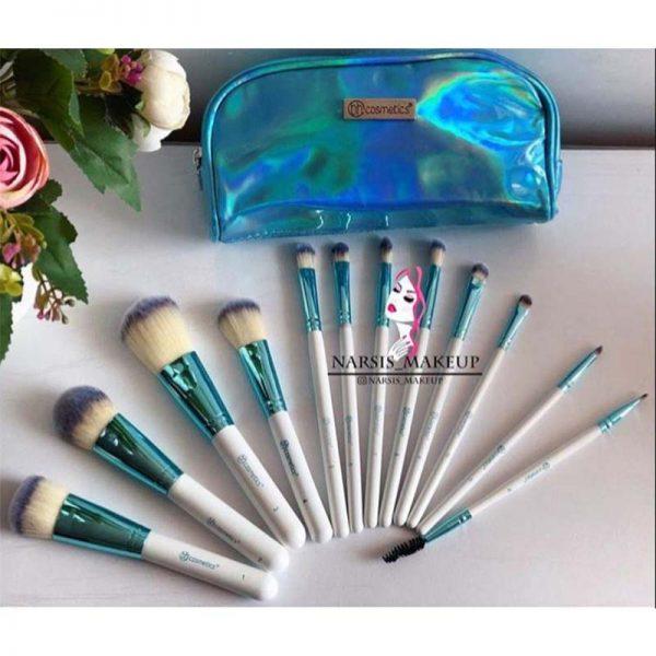 ست براش bh cosmetics +کیف